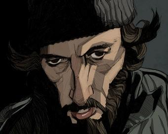 Al Pacino in Sidney Lumet's Serpico Art Print