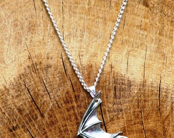 Pipistrelle Bat Necklace & Pendant Ladies Jewelry Gift