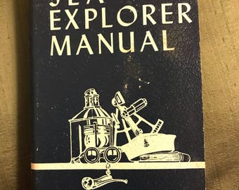 1950 Boy Scouts of America Sea Explorer Manual