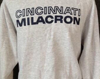 Vintage Cincinnati Milacron sweatshirt USA L