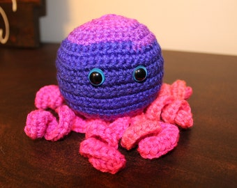 Crochet | Octopus | Curly Tentacles