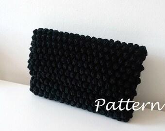 CROCHET PATTERN Crochet Bag Pattern crochet purse pochette pattern woman bag, evening bag, summer bag, handbag, crochet bag