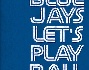 Toronto Blue Jays art print for Toronto fans
