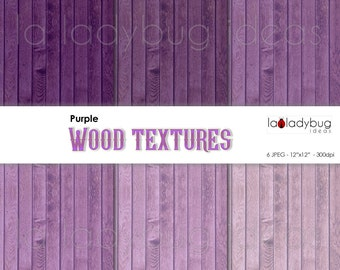Purple wood texture digital paper (WT010). Tints of purple wood wallpaper. Instant download background. High resolution.