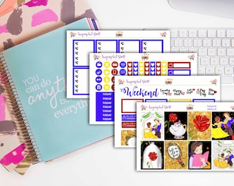 NEW! Beauty and the Beast Sticker Kit