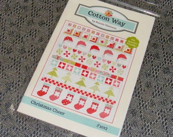 Cotton Way Christmas Cheer Pattern by Bonnie Olaveson