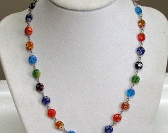 milleflori necklace