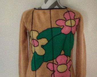 1960's// Mod// Hippie// Sweater