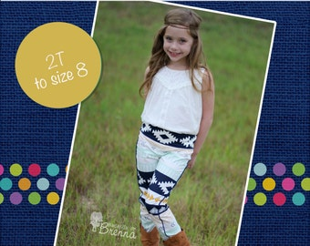 Blaycie's Skinny Pants PDF Pattern sizes 6-12 months to 8
