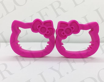 Hello Kitty - pink or hot pink teething ring