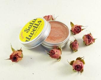 Handmade Lip Balm, Natural Lip Balm, Rose Lip Balm, Lip Moisturizer, Lip Butter, Ghee Lip Balm, Ayurvedic