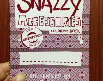 Snazzy Accessories Coloring Book