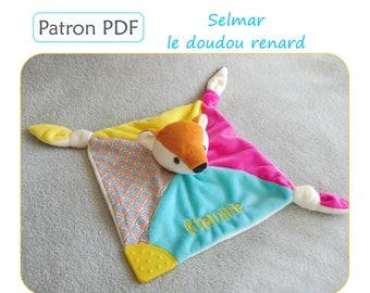 Doudou renard SELMAR - patron de couture