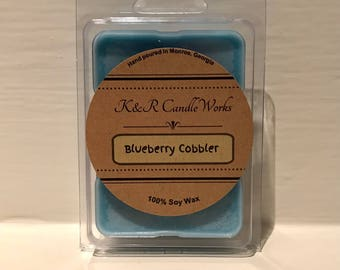 Blueberry Cobbler Wax Melt
