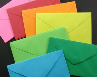 choose your color . 50 mini envelopes . special listing .