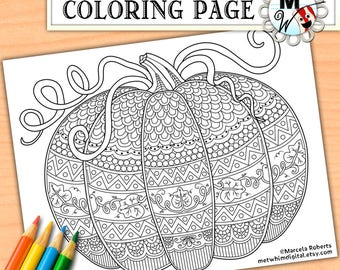 Pumpkin Coloring Pages for Adults Printable Pumpkins Pumpkin