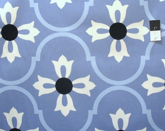 Vicki Payne HDVP23 Logan Blossom Blue Cotton HOME DECOR Fabric By Yd