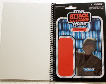 CVI EXCLUSIVE Jocasta Nu Recycled Vintage Style Star Wars AOTC Notebook/Journal