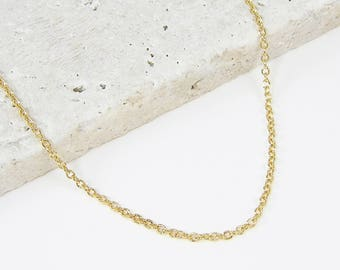 18 Inch Gold Chain Necklace |CH1-G18