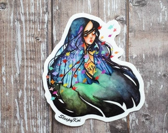Colors of the Wind - 3 inch die cut Disney Pocahontas inspired sticker /decal for planners, mother's day gift, laptops, cell phone