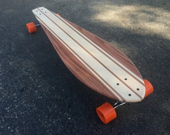 "LONGBOARD - 40 x 10 - Mahogany and Maple -  ""Capistrano"" complete"