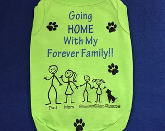Custom Coming Home Dogshirt