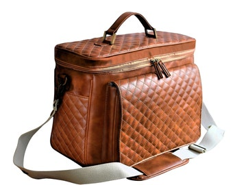 Dslr Camera Bag, Vegan Leather Camera Bag, Padded Camera Bag, Dslr Bag, Camera Bag, Camera Bag Women, Women Camera Bag, Camera Insert
