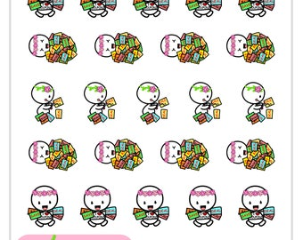 U013-Coupons Planner Stickers-Uteki I Love Coupons Sticker Sheet//Erin Condren, Happy Planner, All Other Planners, Scrapbooking, Crafts