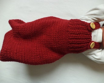 Bambino sacco a pelo Merino lana 50 cm maglia bambino sacco a pelo in lana