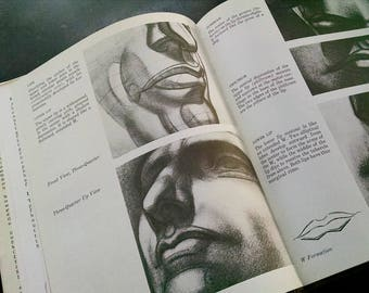 Drawing the Human Head Burne Hogarth Vintage Book Art Anatomy