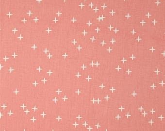 Pink Winks From Birch Organic Fabric's Mod Basics 3 Collection