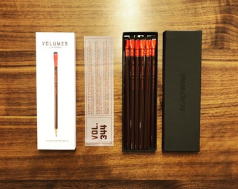 Palomino Blackwing Volumes 344 Dorothea Lange Photography Deep Red Firm Graphite Pencils