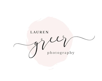Photography Small Business, Calligraphy, Marketing Package Wedding, Premade Logo 0003