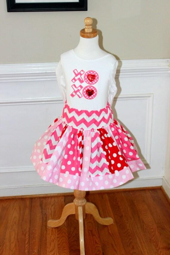 Valentine S Day Outfit Girls Valentine Day Skirt Set Girl