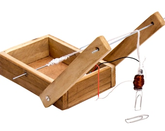 Electromagnetic crane Do It Yourself (DIY) kit for science projects for school
