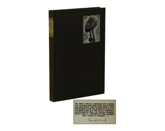 Madman's Drum ~ LYND WARD ~ Signed Limited Edition 1930 Copy #224/309 ~ Woodcuts