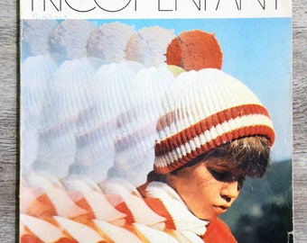 Knit 3 Swiss - knit child (Vintage) magazine