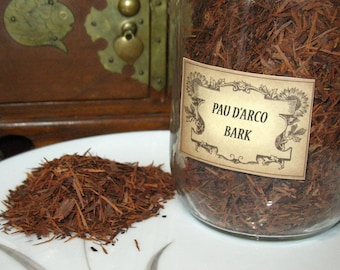 Pau d'Arco Herb~Moon~Healing~Planet Pluto~Tree Bark