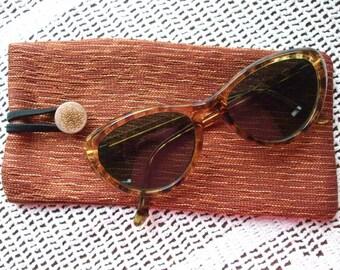 Boho Vintage Look Glasses Case