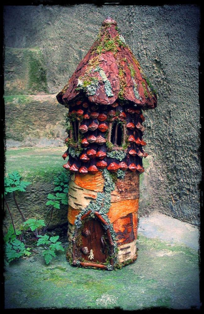 Elfin Tower Custom Order Fairytale Fairy House Fairy Elf