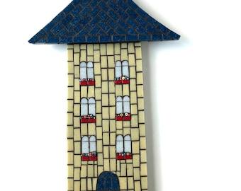 House Art, Mosaic Wall Art, Mosaic House