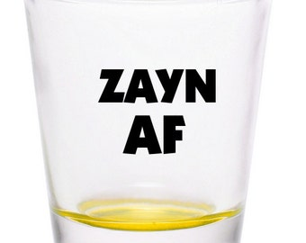 Zayn Malik Zayn AF Shot Glass