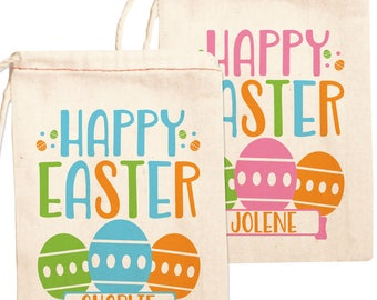 Easter gift bags etsy easter candy bags custom happy easter gift bags easter party favors easter treat negle Choice Image