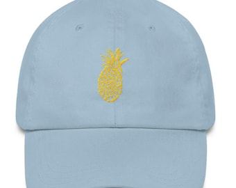 Holla Back Co. Light Blue Pineapple Hat