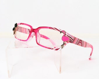 Reading Glasses  with Pink Flamingo, +2.50