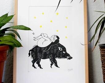 Pearl & The Wild Boar