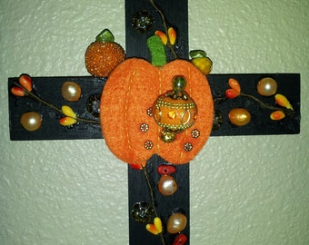 Harvest Wooden Cross