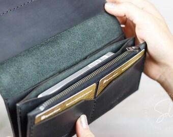 Phone Wallet, Wallets For Women, Clutch Wallet, Clutch Purse, Wallets For Women, Purse, Zipper Wallet, Womens Leather Wallet, Long Wallet
