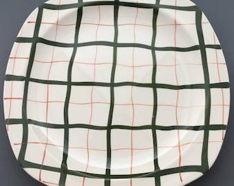 Midwinter Homeweave Green Dinner Plate