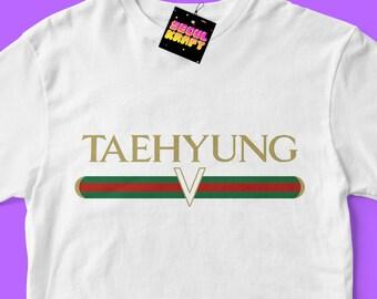 방탄소년단 BTS Taehyung V Gucci Kpop bangtan boys Unisex Kpop Shirt | bts kpop | bts | bts shirt